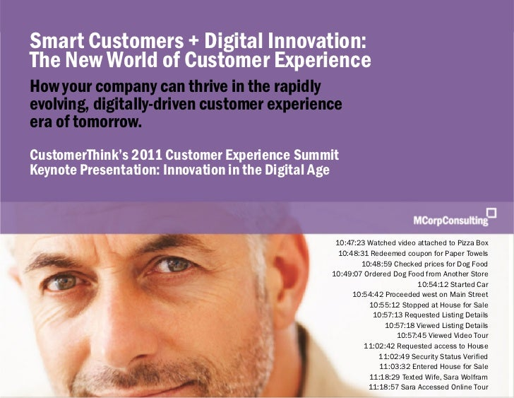 Customer Experience Summit: Innovation in the Digital Age | MCorp Consulting