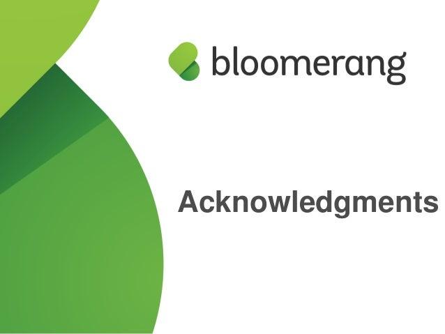 Customer Webinar - Acknowledgments