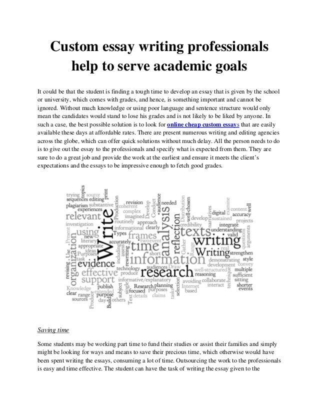 essay custom writing