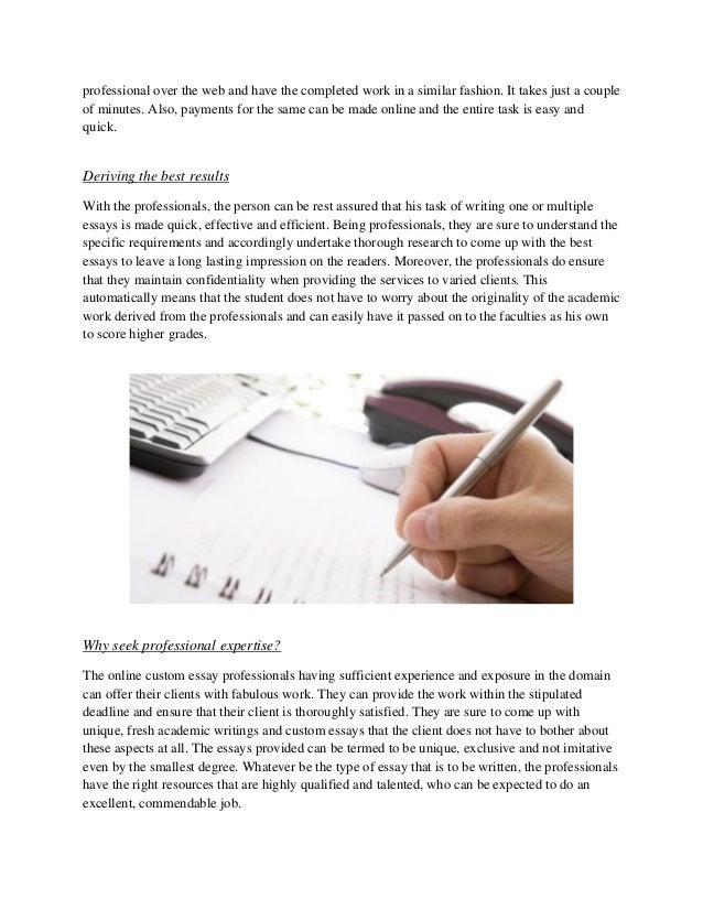 essays on professional goals