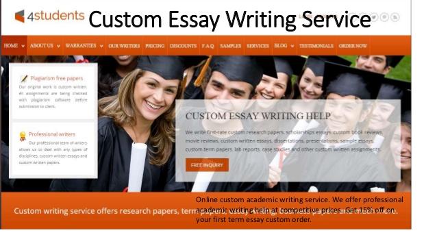 Custom Essay Writing Services - Custom Essays Just $9 95/page
