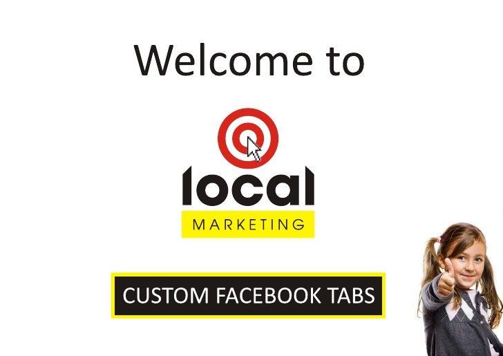 Customised Facebook Tabs