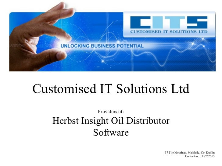 Herbst Oil Distribution Management Software