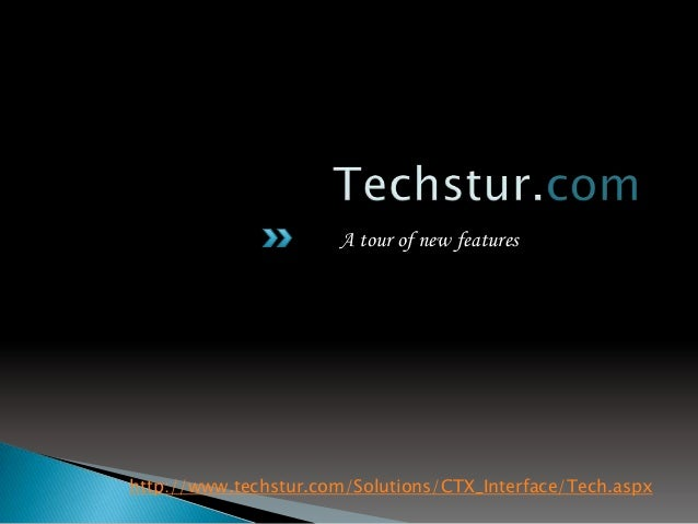 A tour of new features http://www.techstur.com/Solutions/CTX_Interface/Tech.aspx customize citrix web interface 5.4