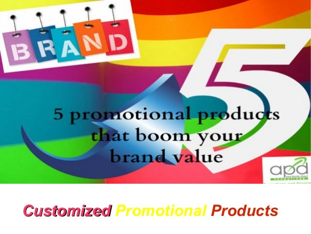 Title  Customized Promotional Products