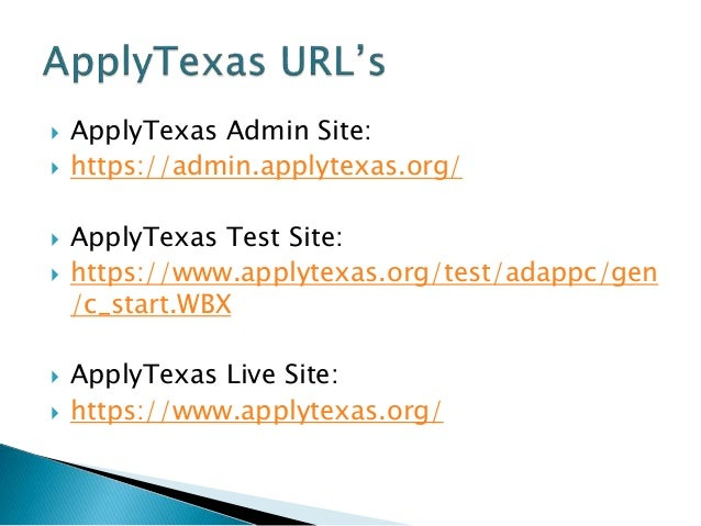 apply texas essays 2016