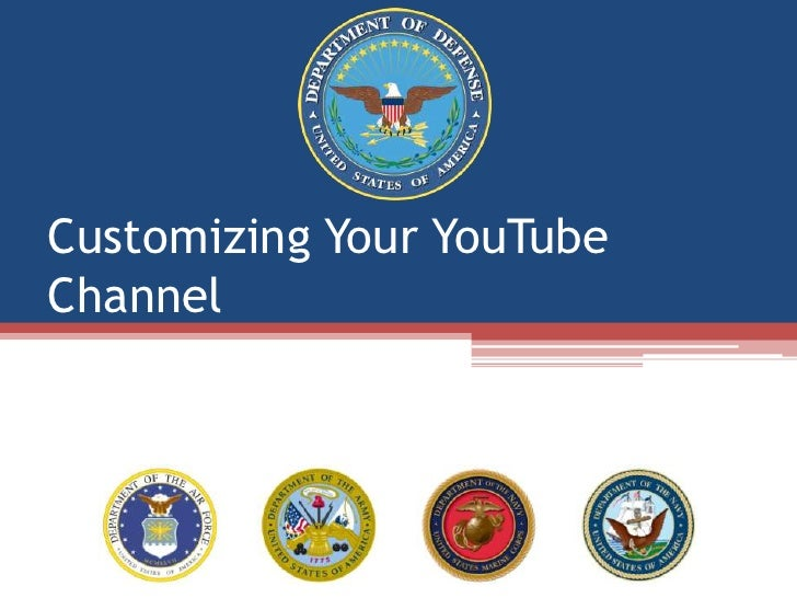 Customizing Your YouTube Channel<br />