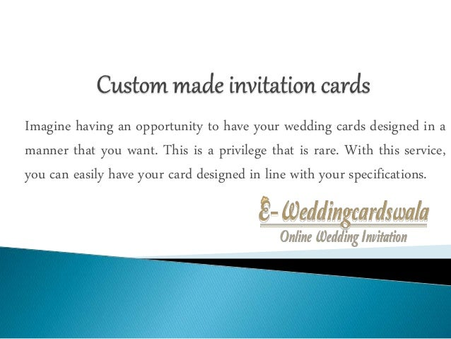 Custom made invitation cards – Custom Made Invitation Cards
