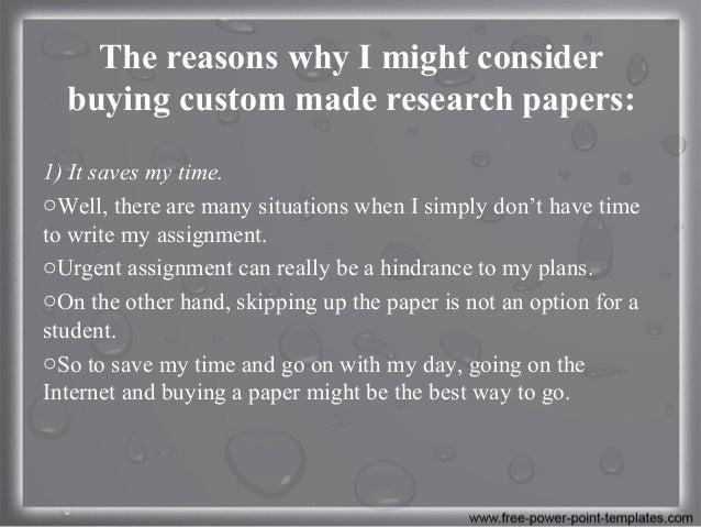 Custom term papers 7 95