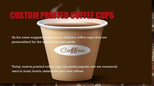 Custom paper coffee cups sleeves