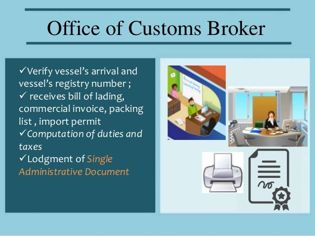 Customs clearing agent business plan