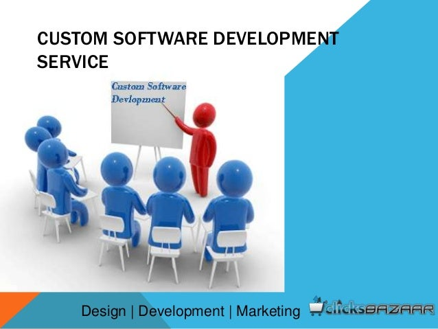 Custom software development service