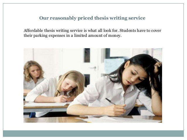 Affordable Thesis Writing Services