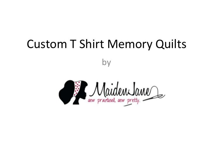 Custom T Shirt Memory Quilts             by
