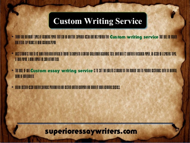 Where to Order Custom Essay