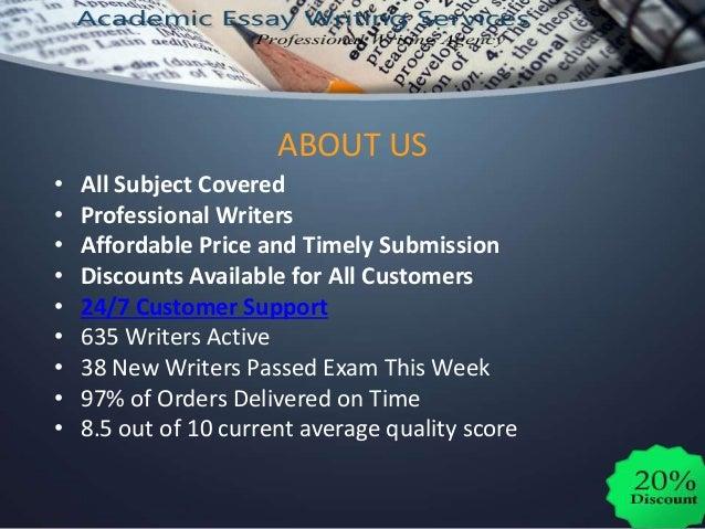 Custom Writing Services | 1 % Original Work | PhD Writers