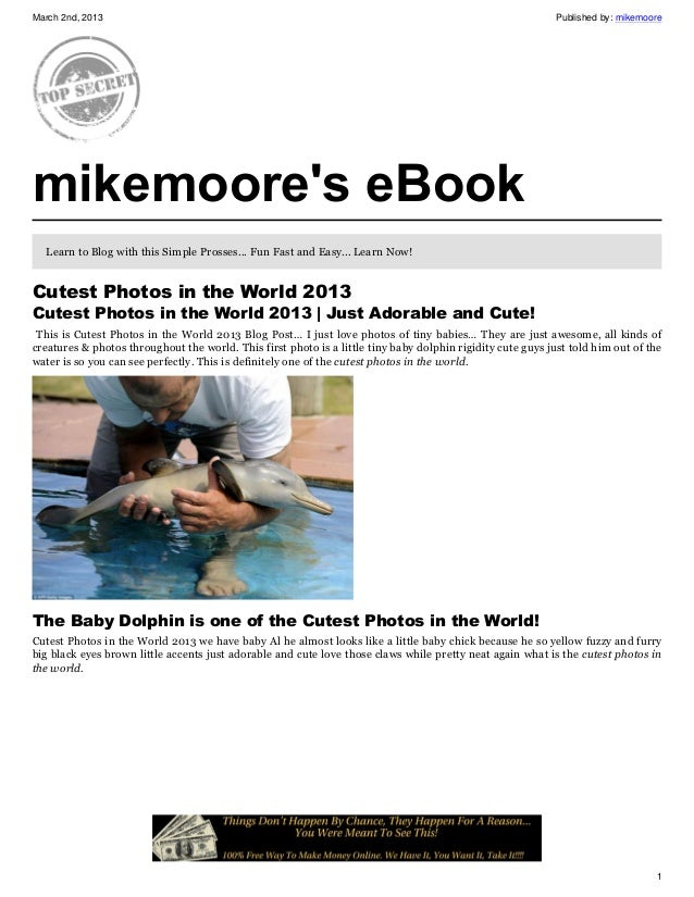 March 2nd, 2013                                                                                             Published by: ...
