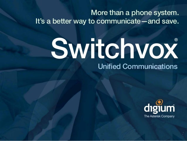 More than a phone system. A better way to communicate.