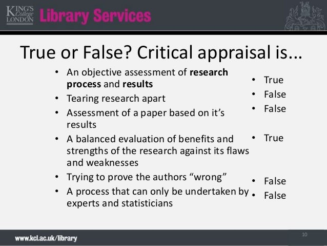 critically evaluating research papers Part of becoming a successful critical reader is being able to translate the thoughts you had whilst reading into your writing some research may be biased in its structure example: limitations due to sample group limitations can arise due to participant numbers.