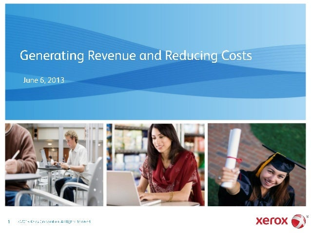 Generating Revenue and Reducing Costs in Higher Education