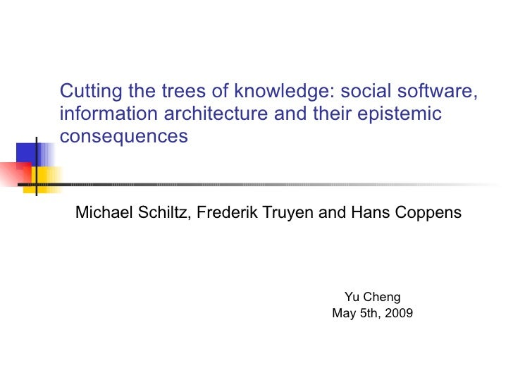 Cutting The Trees Of Knowledge