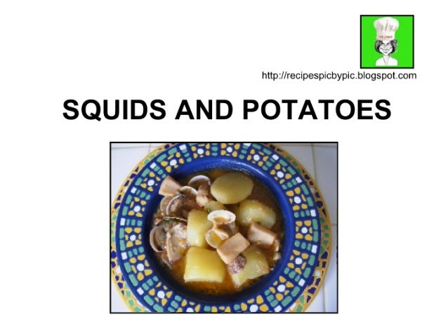 Cuttlefish and Potatoes