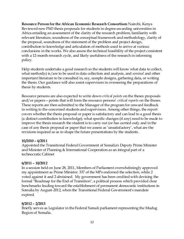 Research proposal phd economics