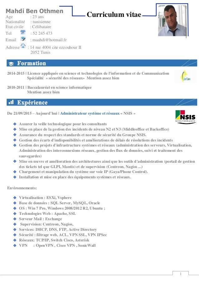 1 2014-2015 | Licence appliquée en science et technologies de l'information et de Communication Spécialité « sécurité des ...