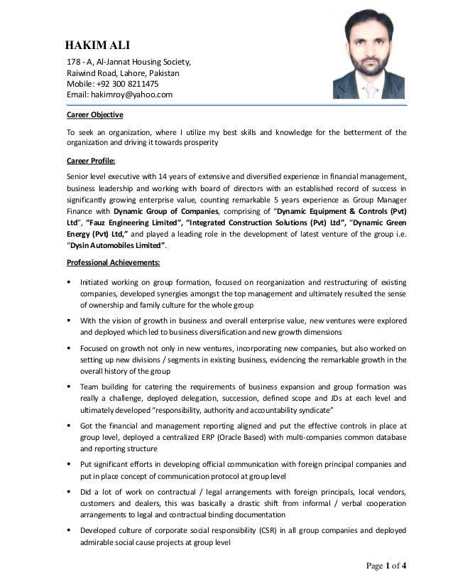 finance director cv financial manager resume sample seangarrette ...