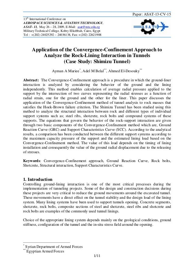 Paper: ASAT-13-CV-15 th  13 International Conference on AEROSPACE SCIENCES & AVIATION TECHNOLOGY, ASAT- 13, May 26 – 28, 2...