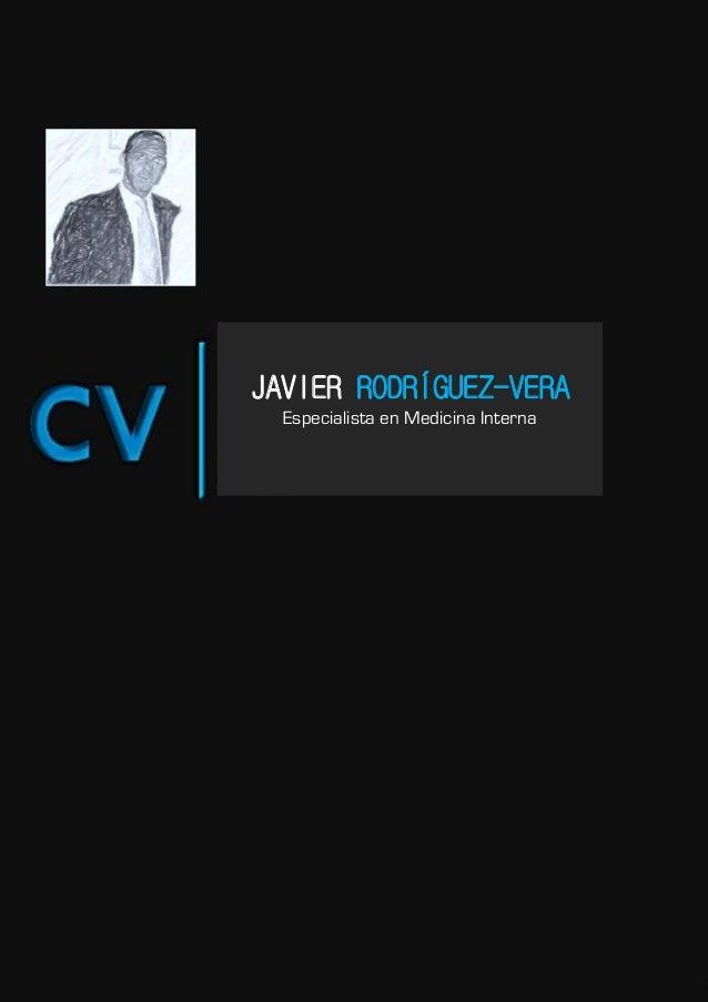 JAVIER RODRÍGUEZ-VERA             Especialista en Medicina Interna0 Página