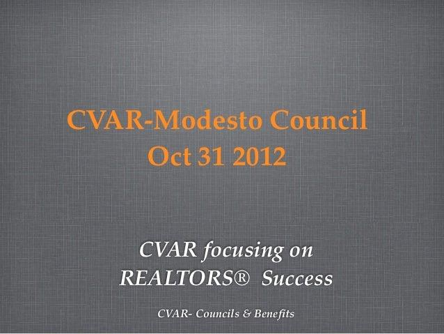 Cvar modesto council