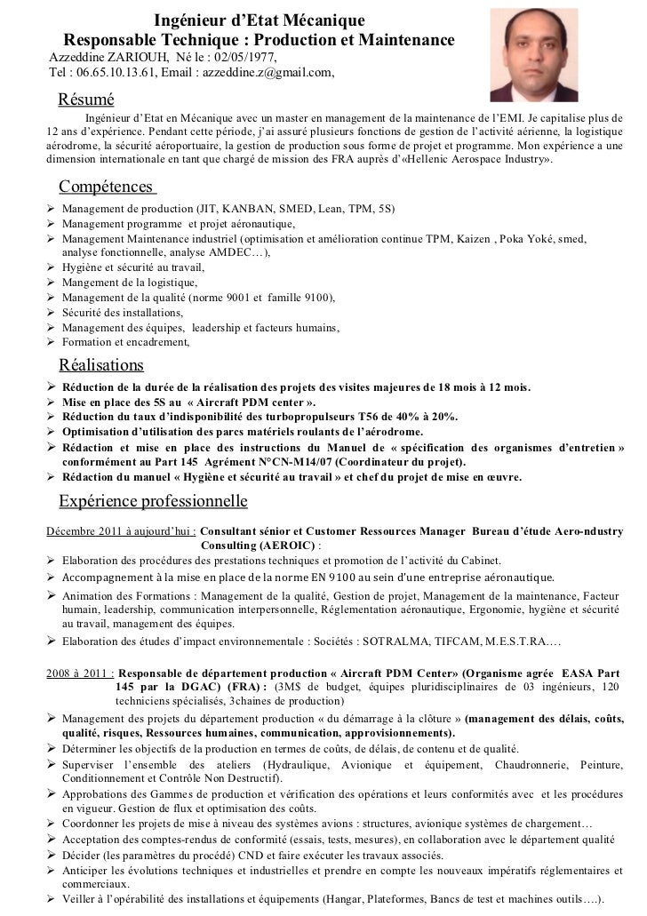 example resume  modele cv anglais informatique