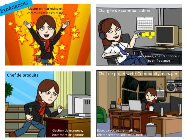 cv bitstrip charg u00e9e de communication et marketing