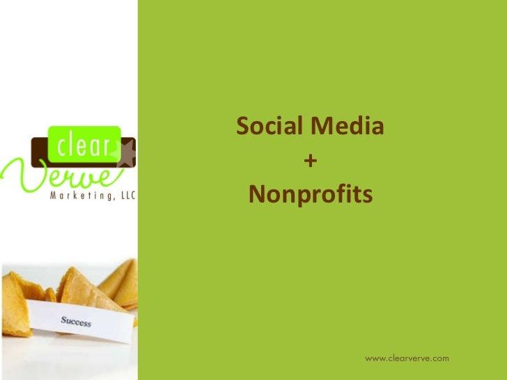 Social Media + Nonprofits