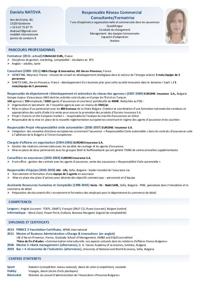 exemple de cv consultant en informatique decisionnelle