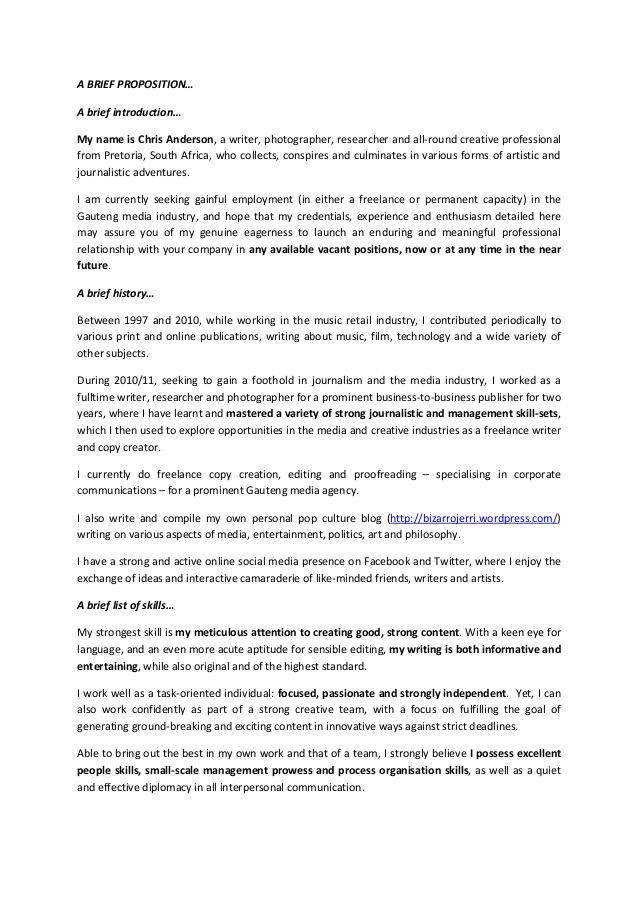 CV Writers Online!