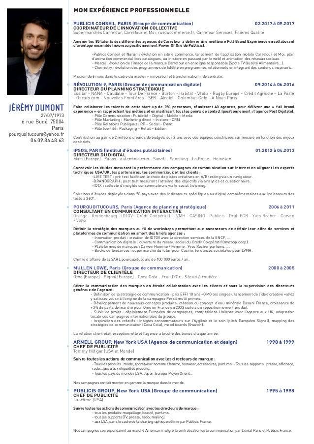 jeremy dumont = planneur strategique spécialisé en communication interactive