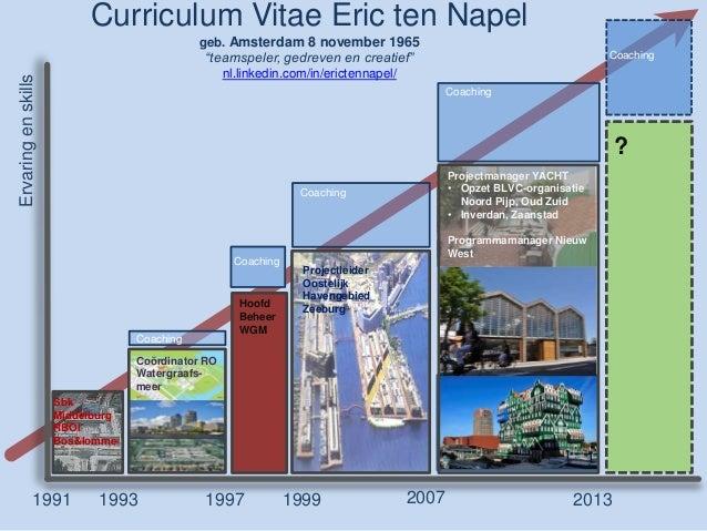 Curriculum Vitae Eric ten Napel                                             geb. Amsterdam 8 november 1965                ...