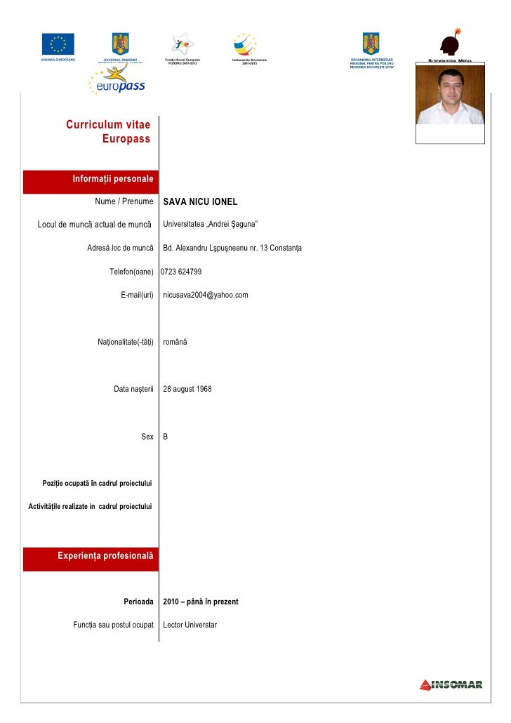 Model cv romana download free image collections certificate curriculum vitae download free romana yelopaper Images