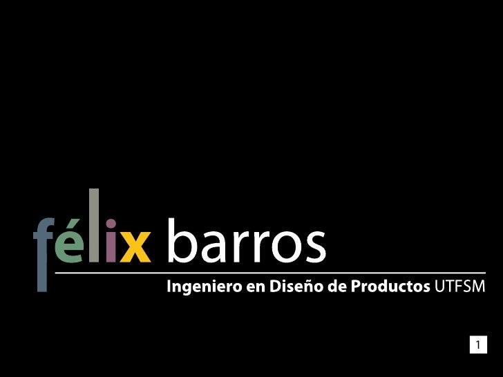 CV Félix Barros