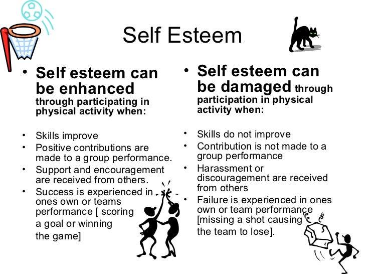 self esteem ul li self esteem can be enhanced through
