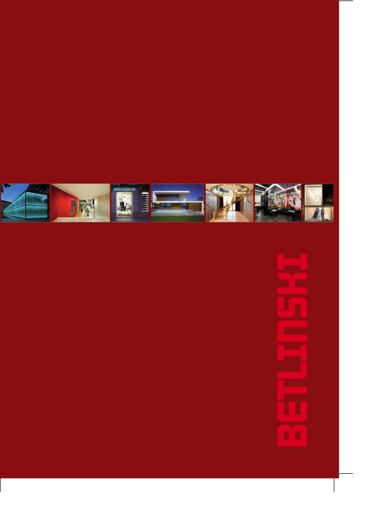 Betlinski Catalogue 2011