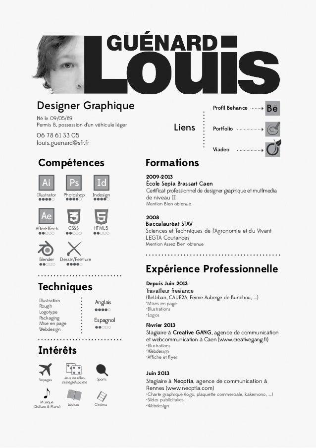 graphic designer resumes