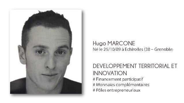 Hugo MARCONE  DEVELOPPEMENT TERRITORIAL ET INNOVATION