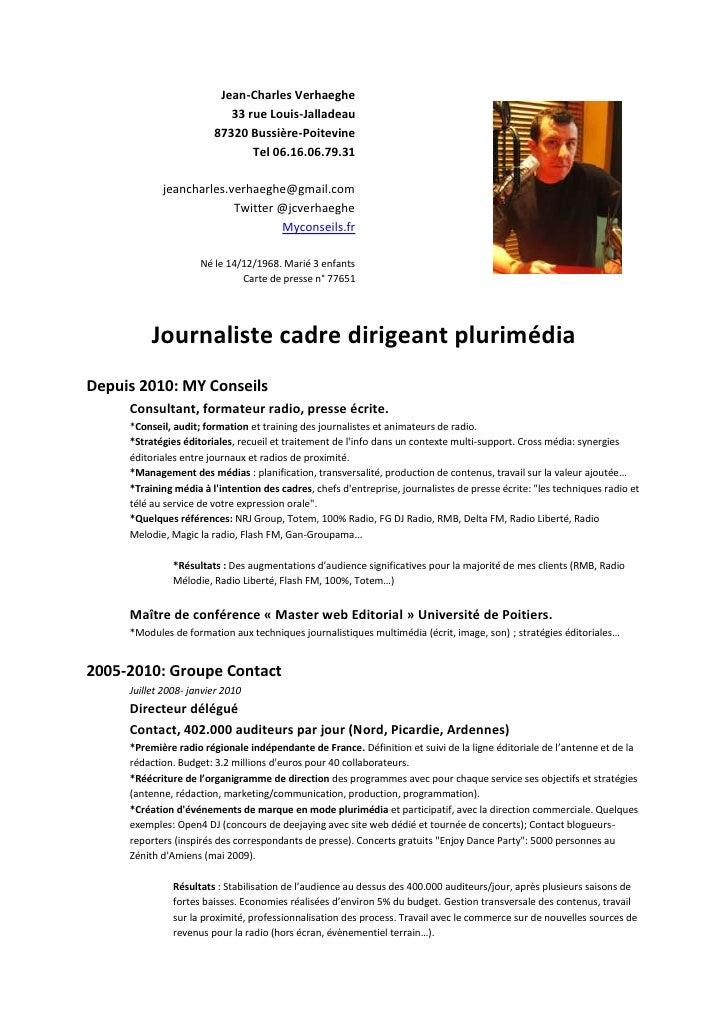 Cv plurimedia 2011
