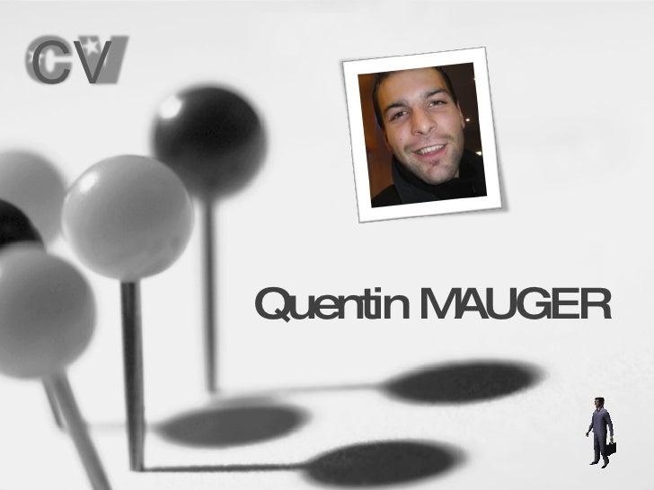 Quentin MAUGER CV