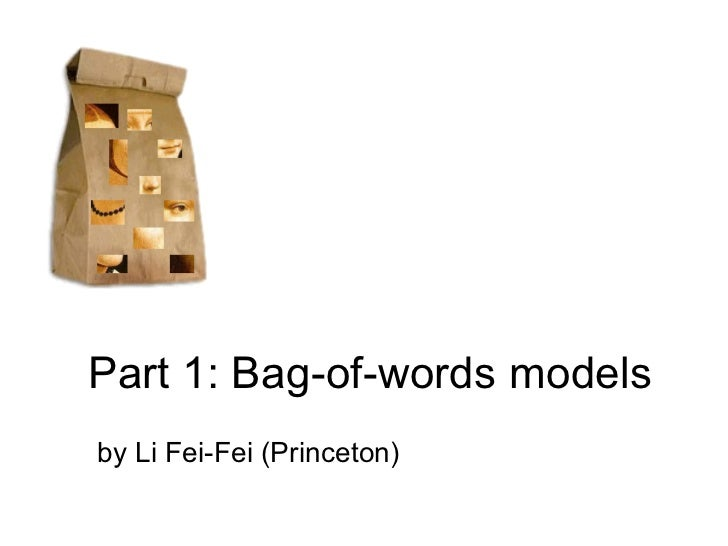 Cvpr2007 object category recognition   p1 - bag of words models