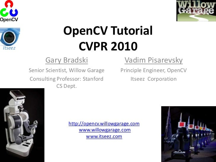cvpr2010 open source vision software intro and