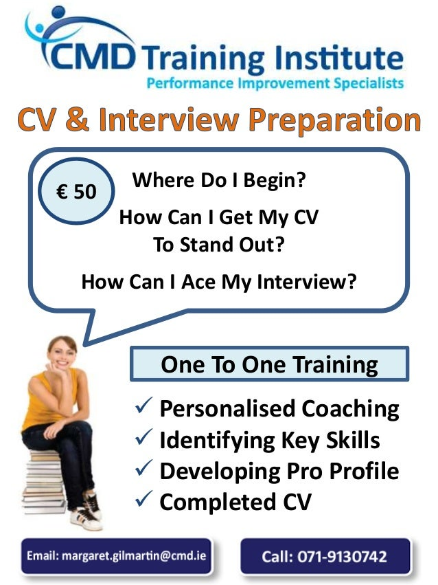  Personalised Coaching  Identifying Key Skills  Developing Pro Profile  Completed CV Where Do I Begin? How Can I Get M...